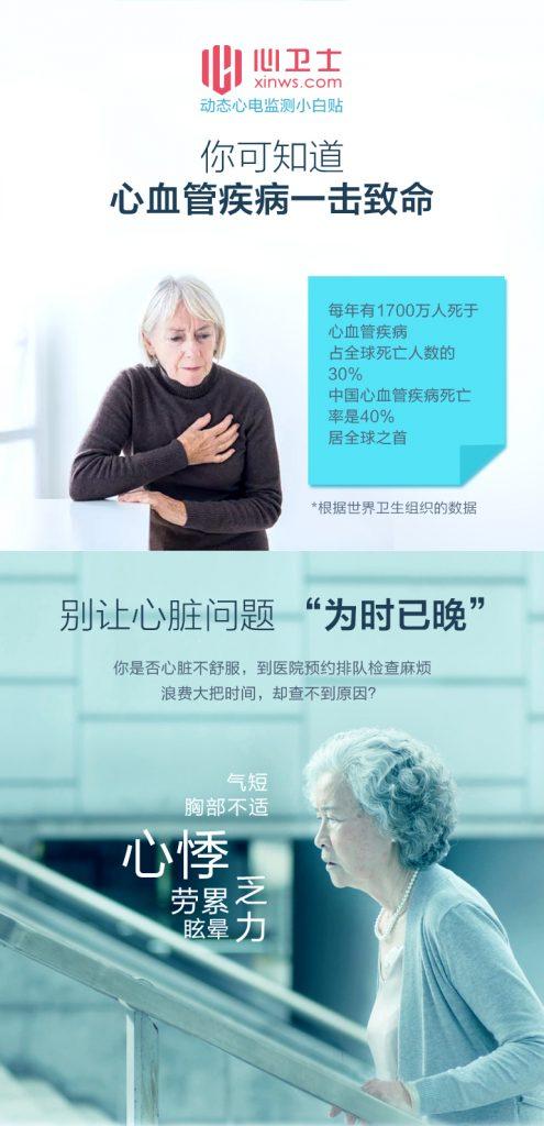 【心卫士】公益为卒中患者免费在家做房颤筛查,远离卒中复发危险